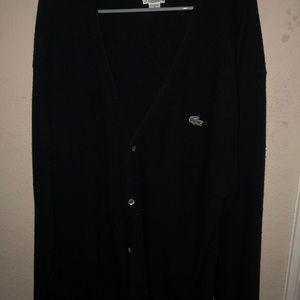 Vintage Authentic Lacoste Men's Cardigan